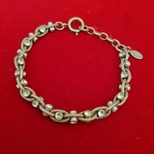 Catherine Popesco Silver Rope Bracelet